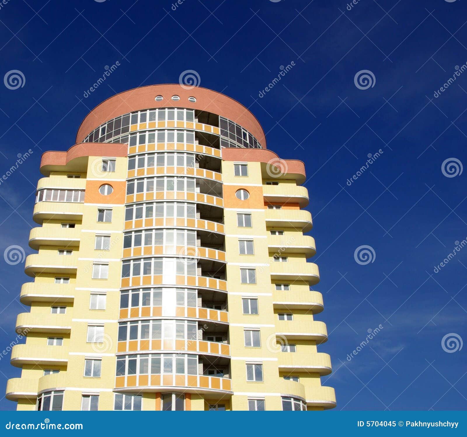 immeuble moderne photo libre de droits image 5704045. Black Bedroom Furniture Sets. Home Design Ideas