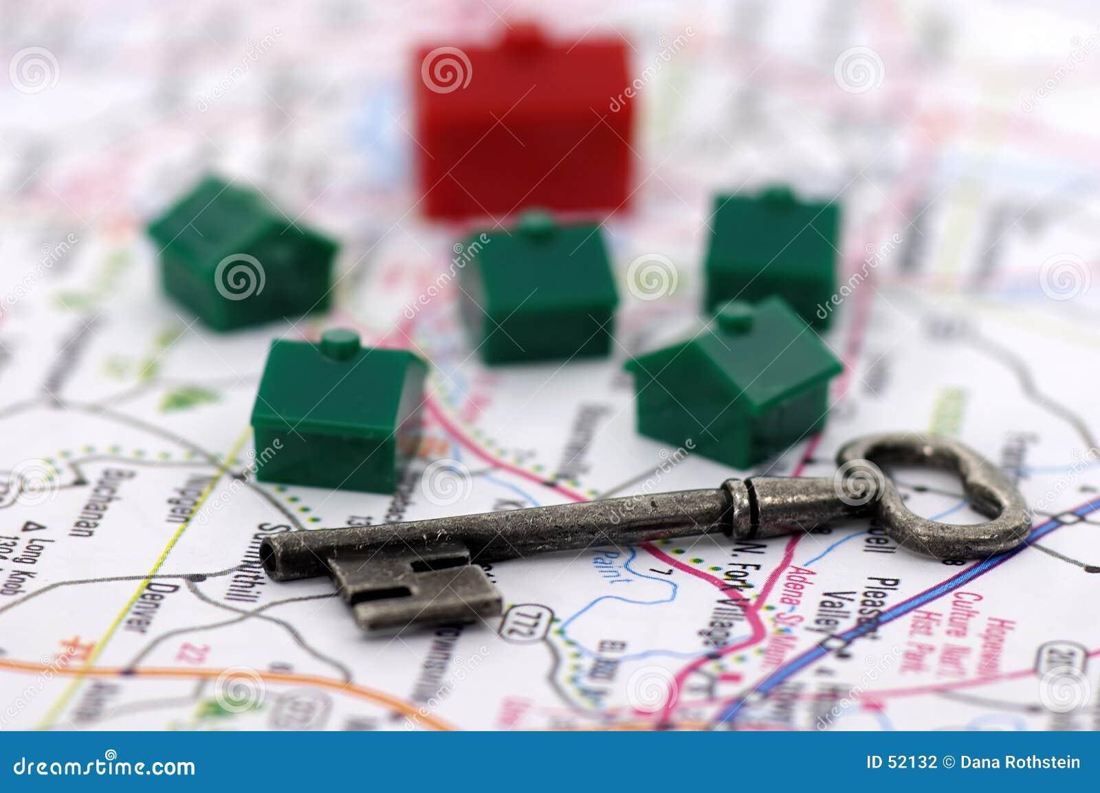 Download Immeubles photo stock. Image du affaires, acheteur, banlieues - 52132