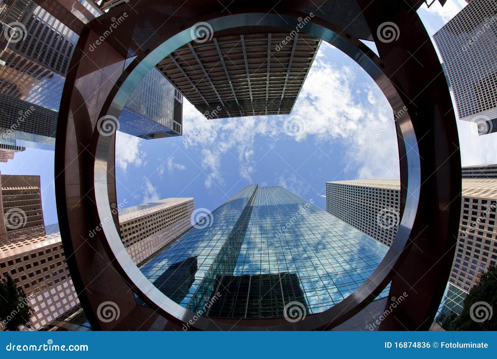 Immeubles de bureaux du centre