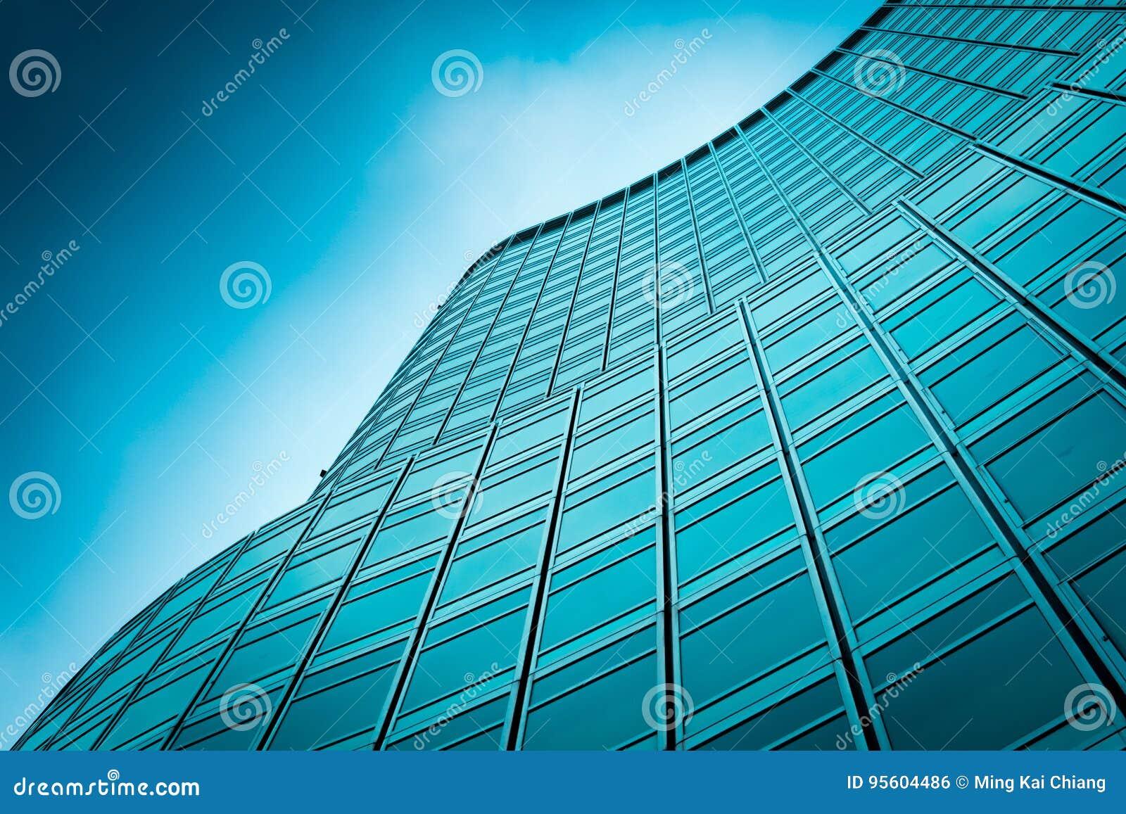Immeubles de bureaux modernes photo stock image du modem
