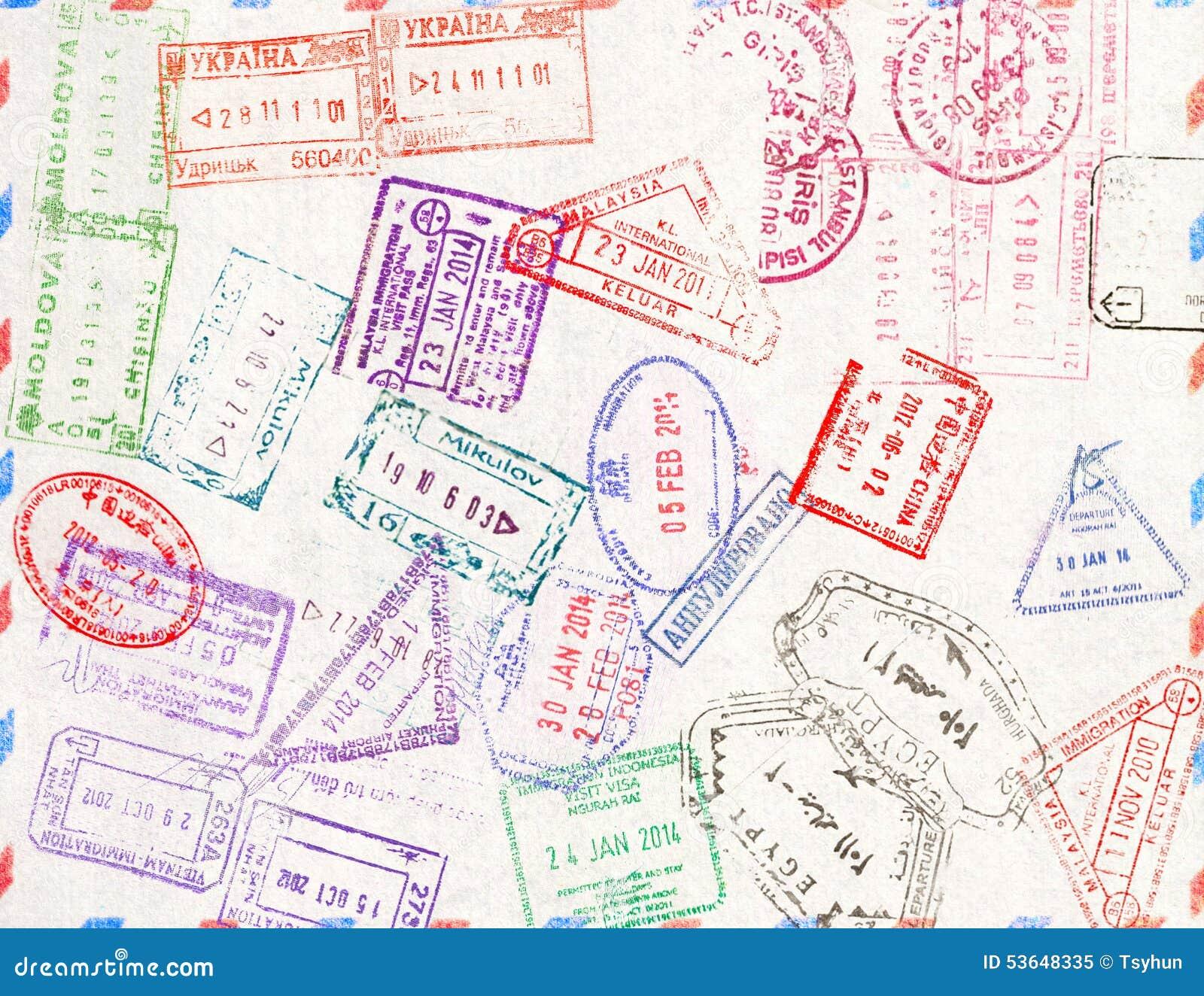 Immigrationsstempel Dieses Bild ist eine vektorabbildung und kann zu jeder möglicher Größe ohne Verlust der Auflösung eingestuft
