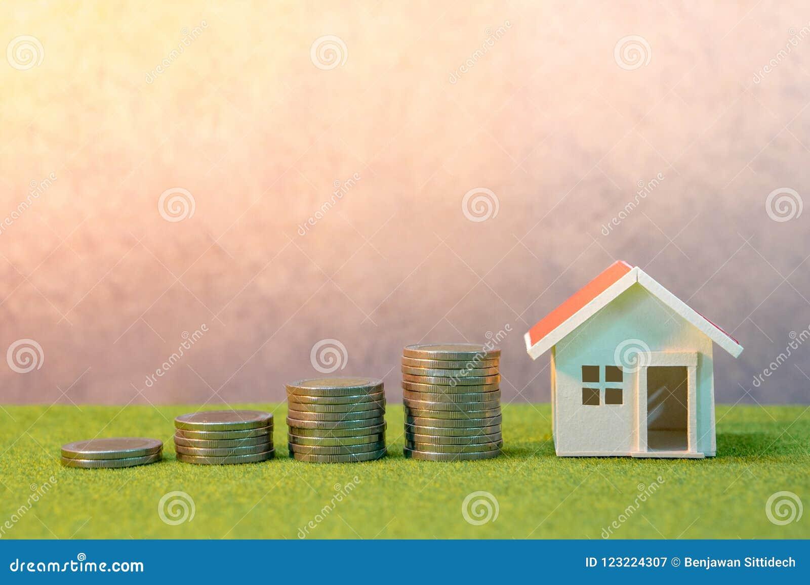 Immobilieninvestition Eigentumsleiterkonzept
