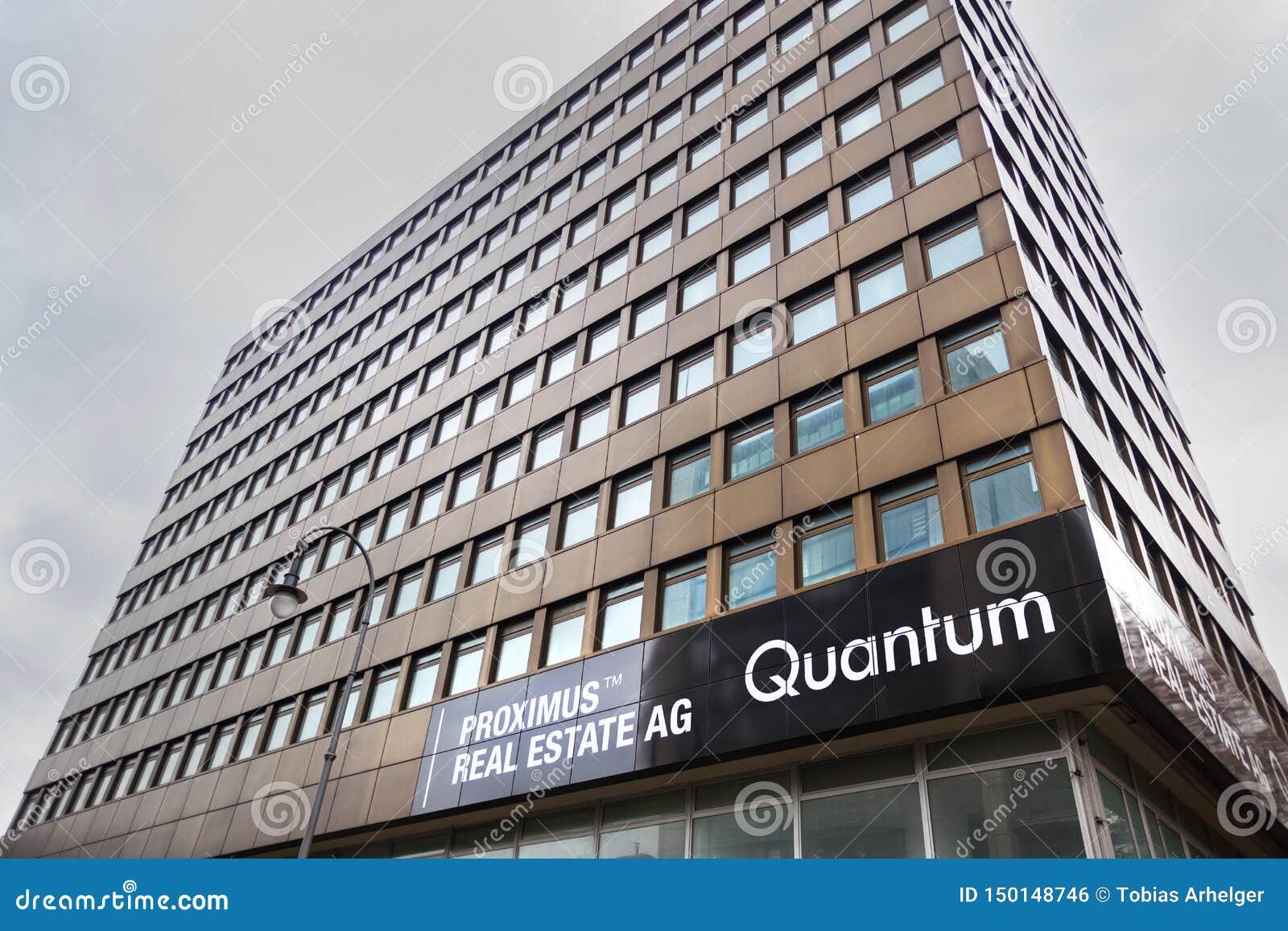 Immobiliers AG de Proximus signent dedans le cologne Allemagne