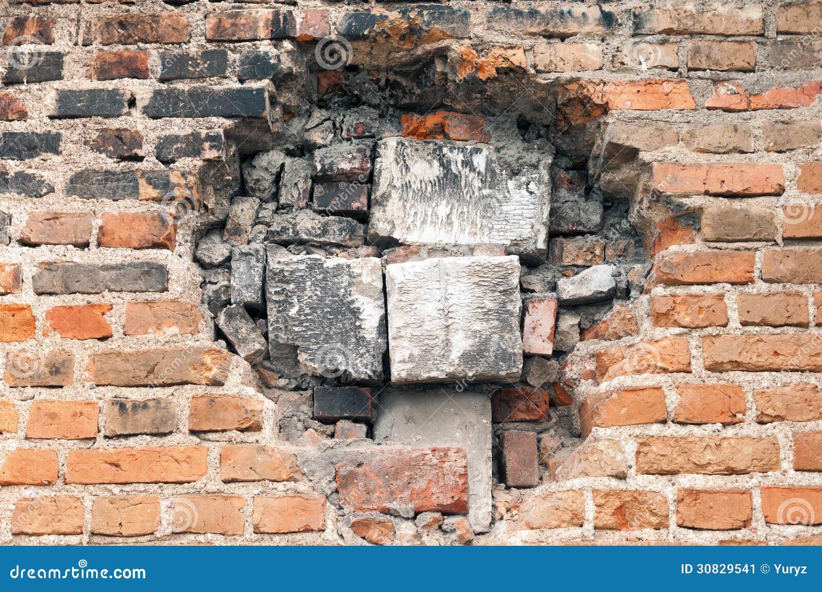 Immured Hole Stock Image - Image: 30829541