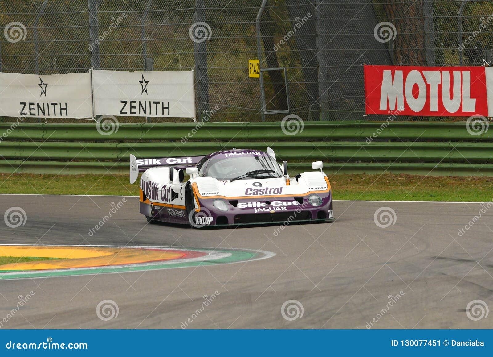 Imola Classic 26 October 2018: Jaguar Le Mans Prototype ...