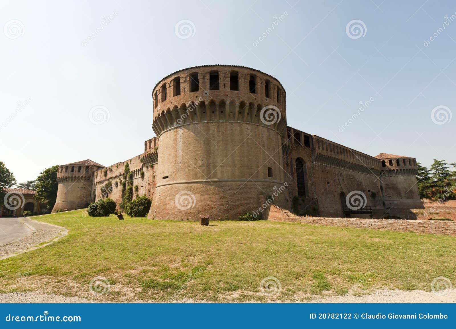 Imola Italy  city photos gallery : Imola Italy Medieval Castle Stock Photography Image: 20782122