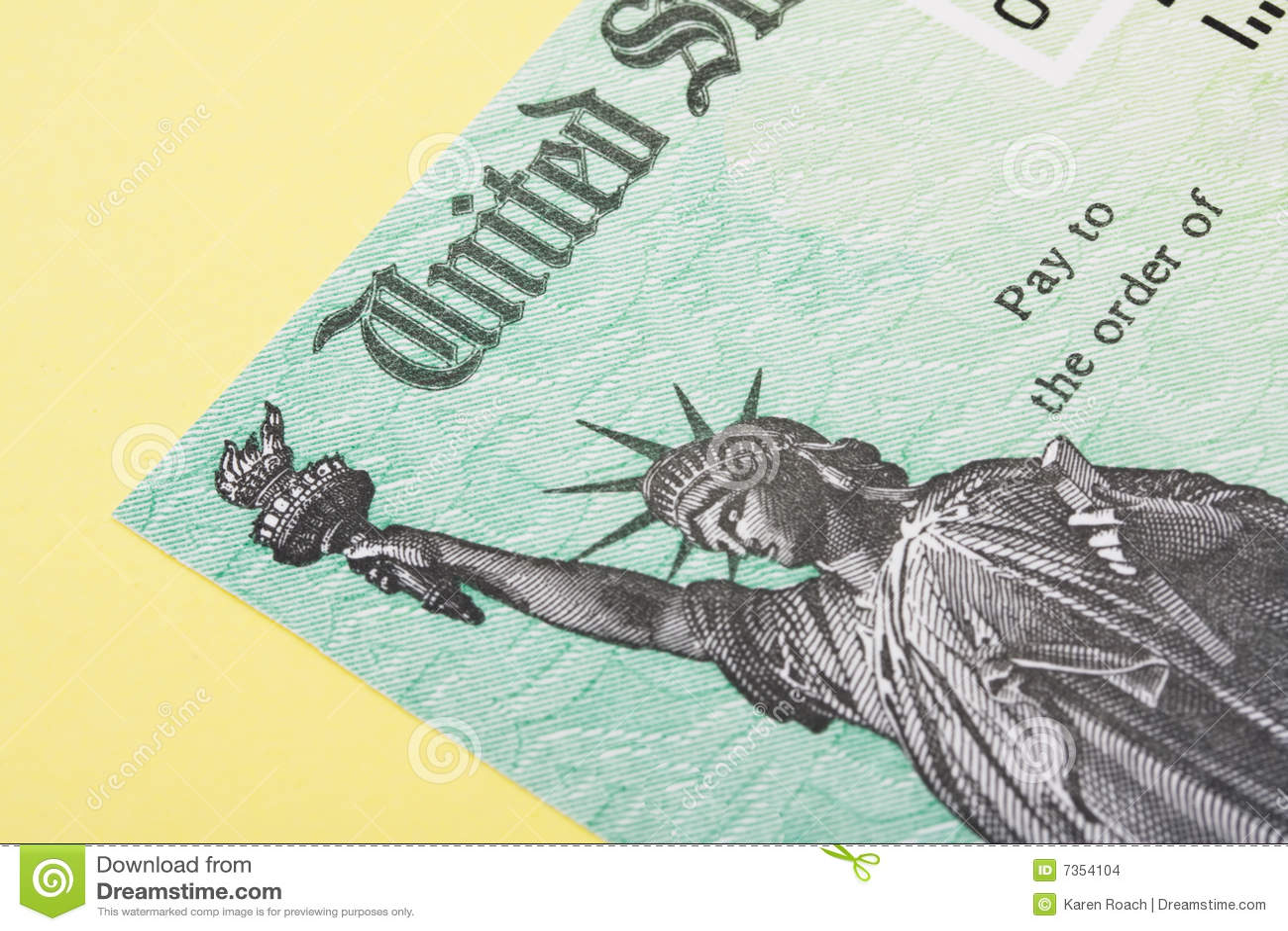 Impôt de remboursement de chèque