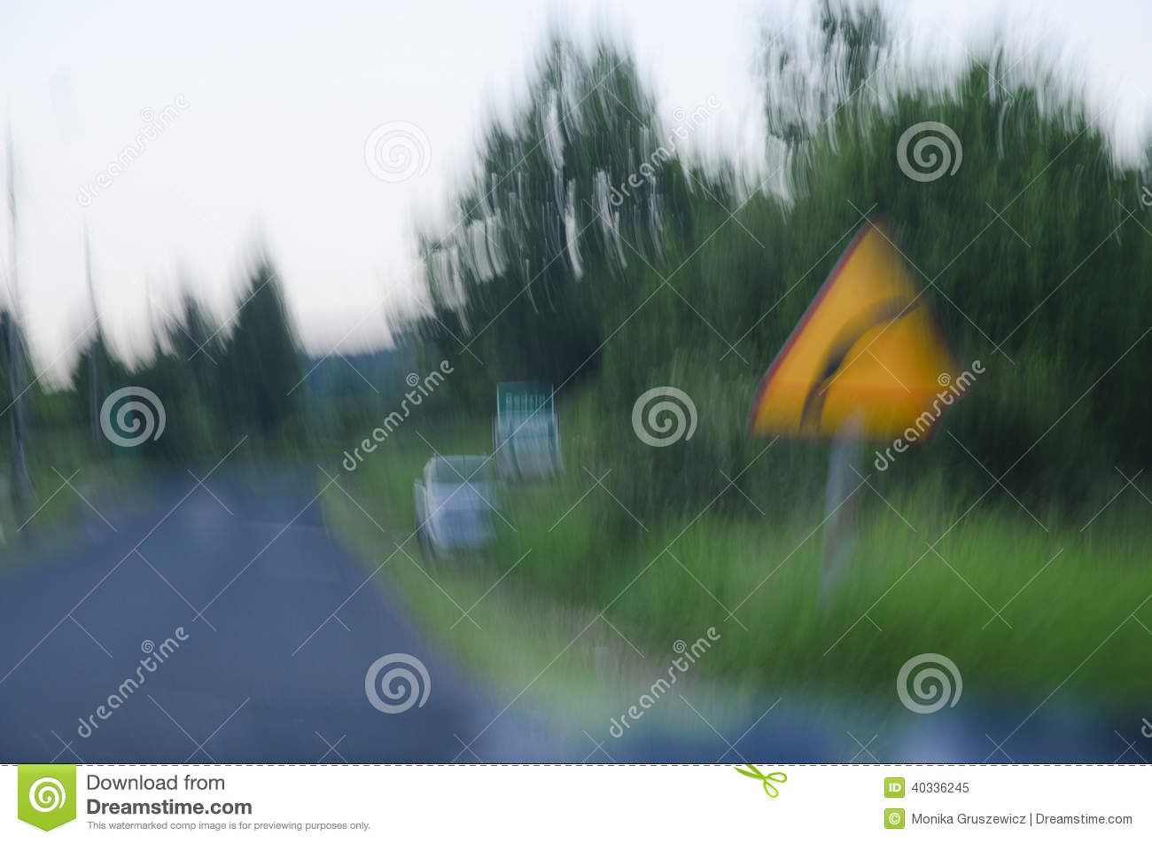 Impaired Vision After Alcohol. Stock Photo - Image: 40336245