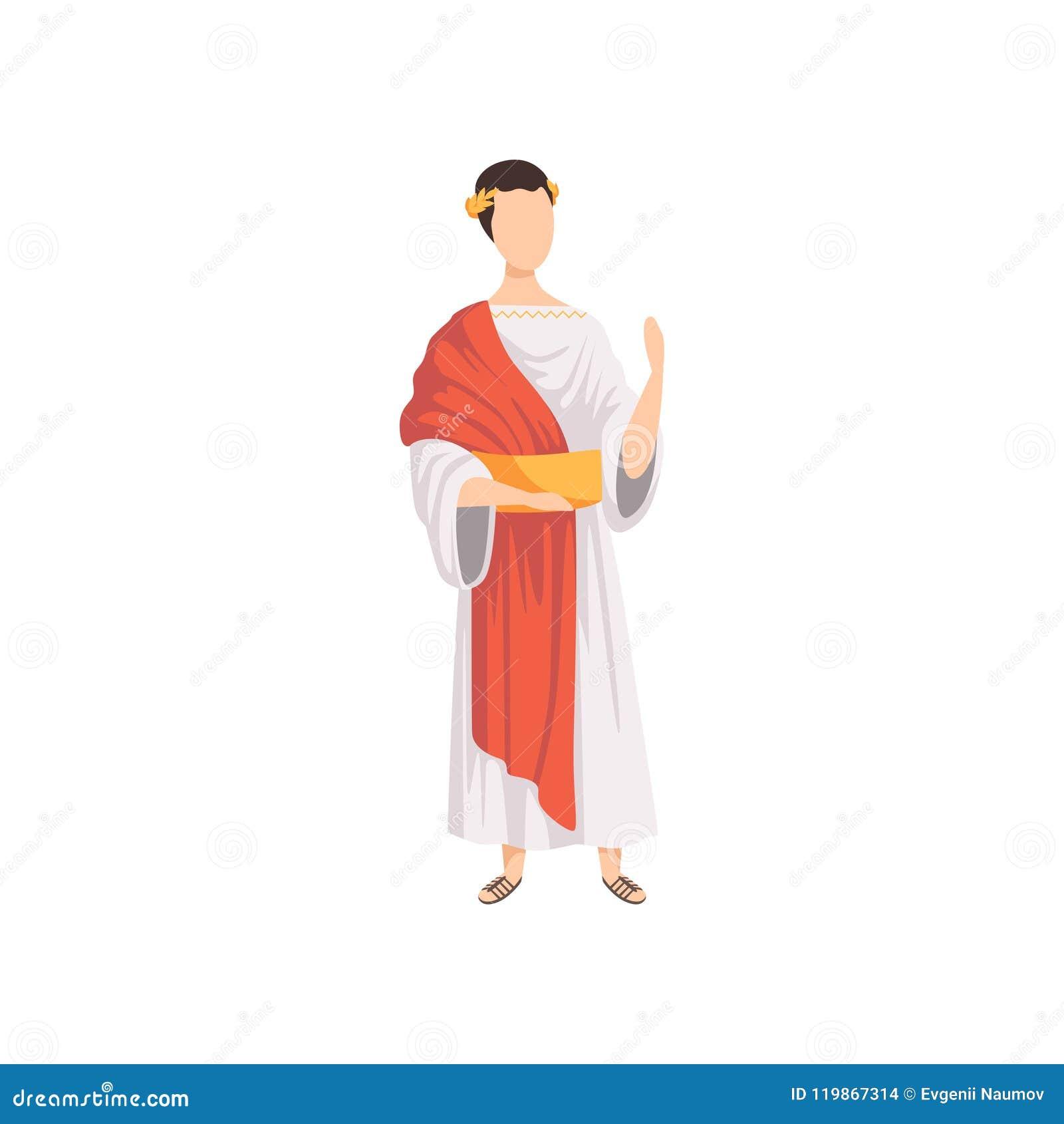 various colors 28e30 4b91f Imperatore Romano, Uomo In Vestiti Tradizionali Dell ...