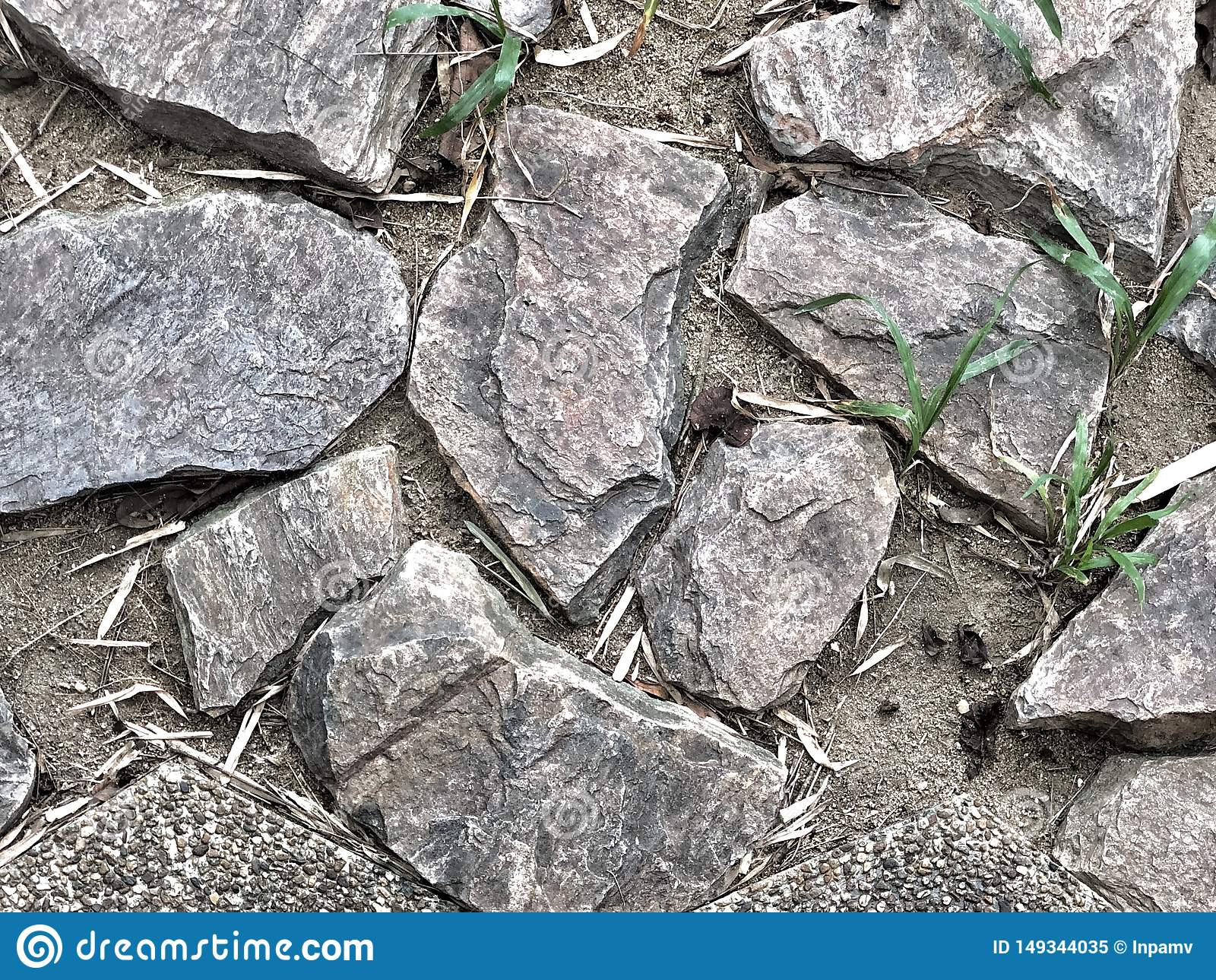 Imperfecci?n del pavimento de las rocas
