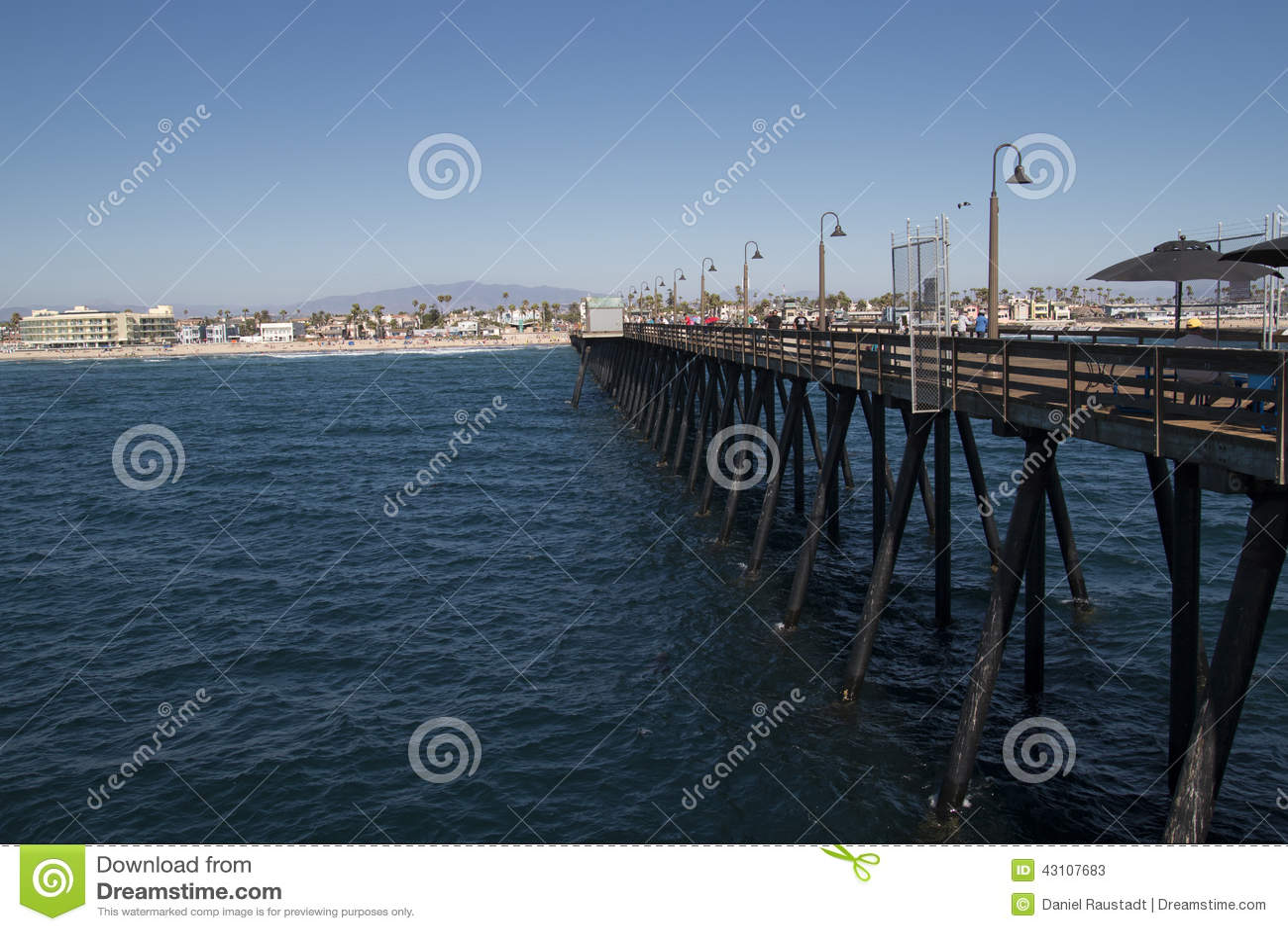 Imperial beach pier near downtown san diego california for Pier fishing san diego