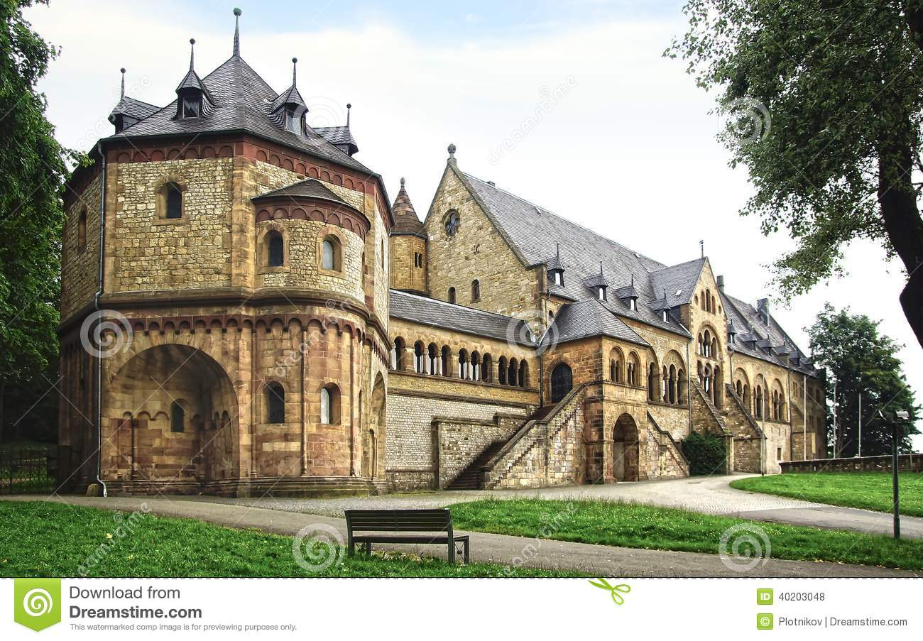 Imperial Palace In Goslar Editorial Stock Photo Image