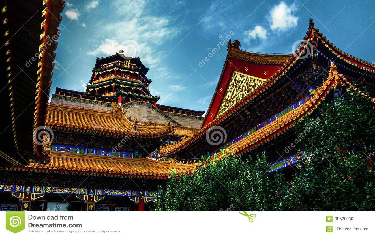 imperial summer palace beijing china