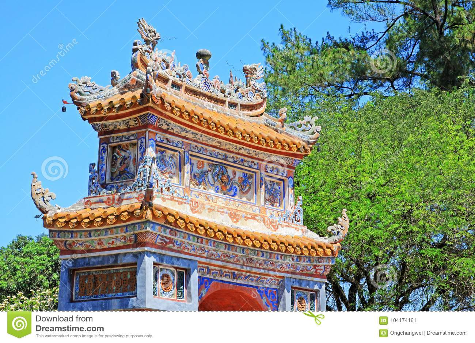 Hue Imperial Tomb of Tu Duc, Vietnam UNESCO World Heritage Site