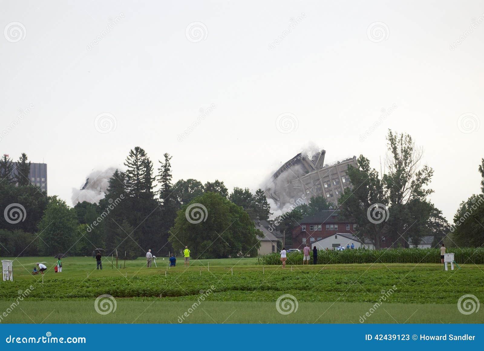 Implosión del edificio