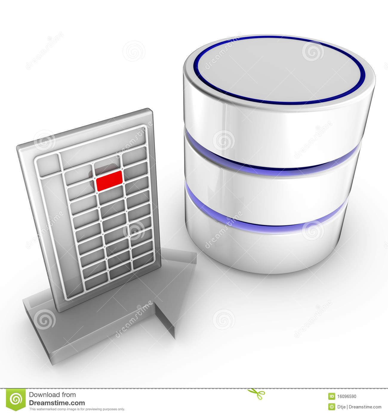 Import data into a database