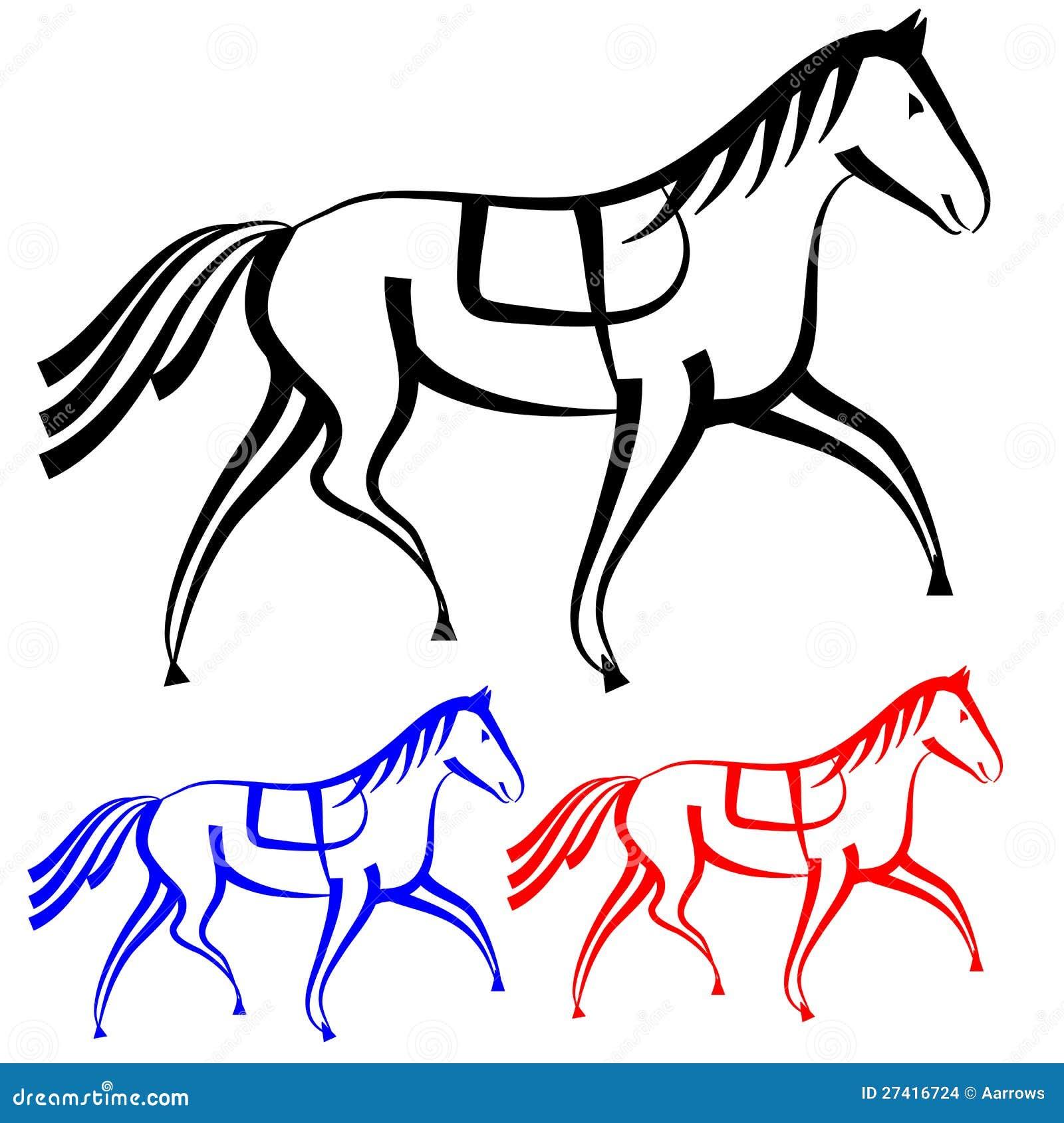 Disegni dei cavalli da colorare disegni da colorare for Immagini di cavalli da colorare