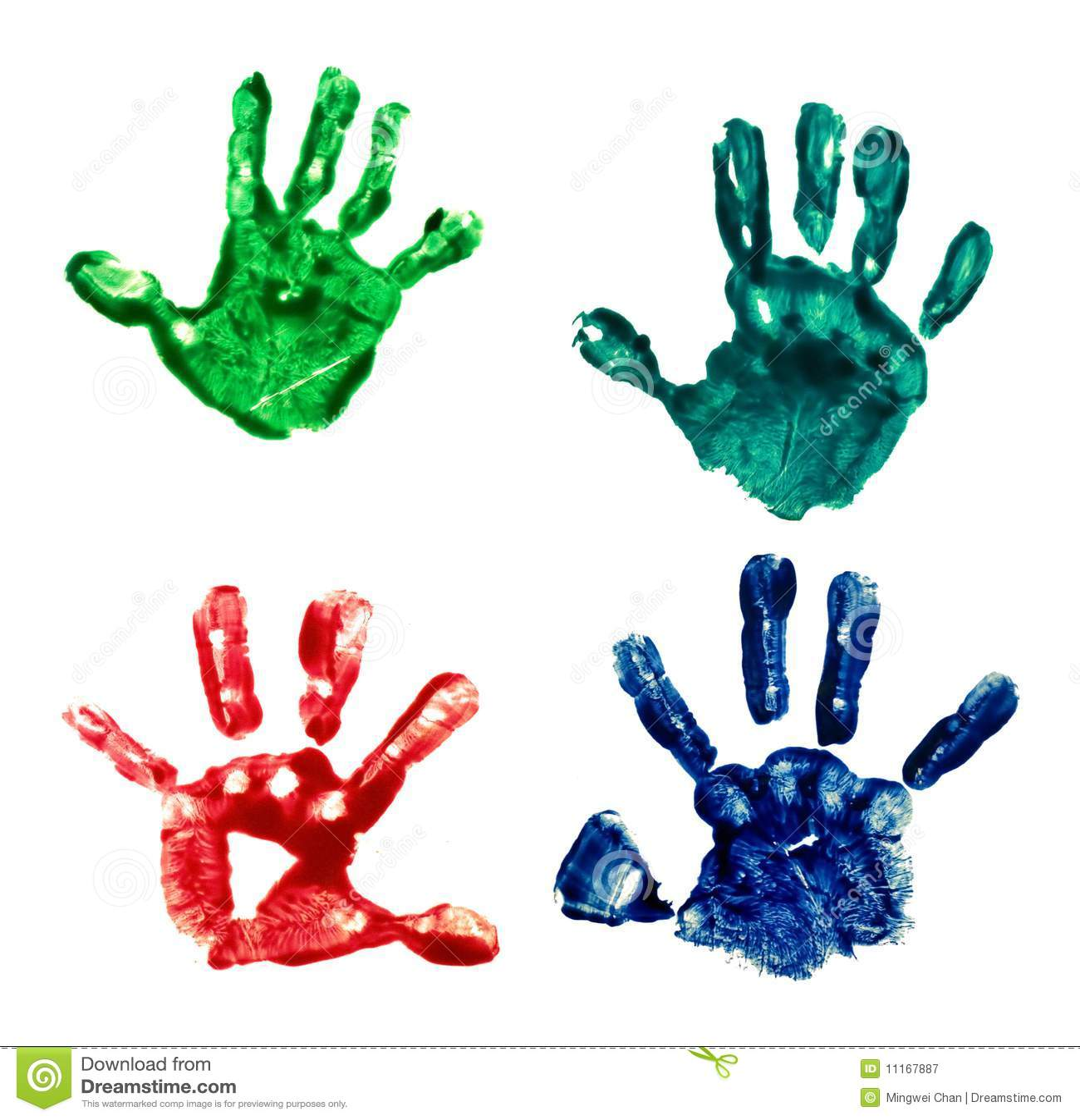 Impresión de la palma