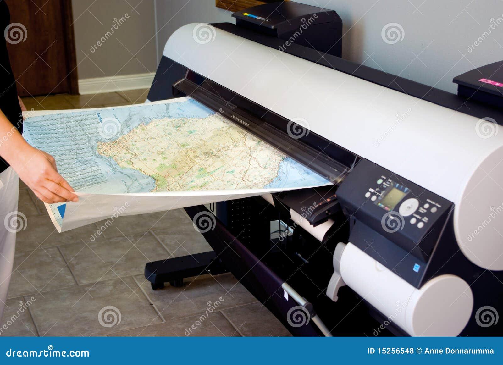 Impresora ancha del formato (trazador de gráficos)