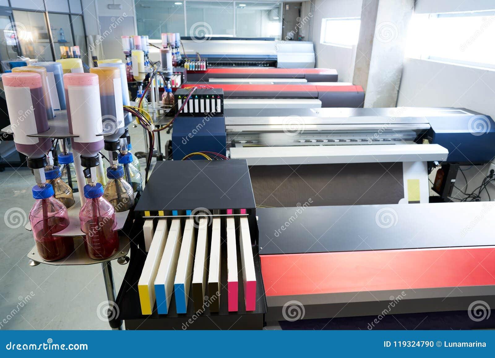 Impresora del papel de transferencia de la industria de impresión para la materia textil
