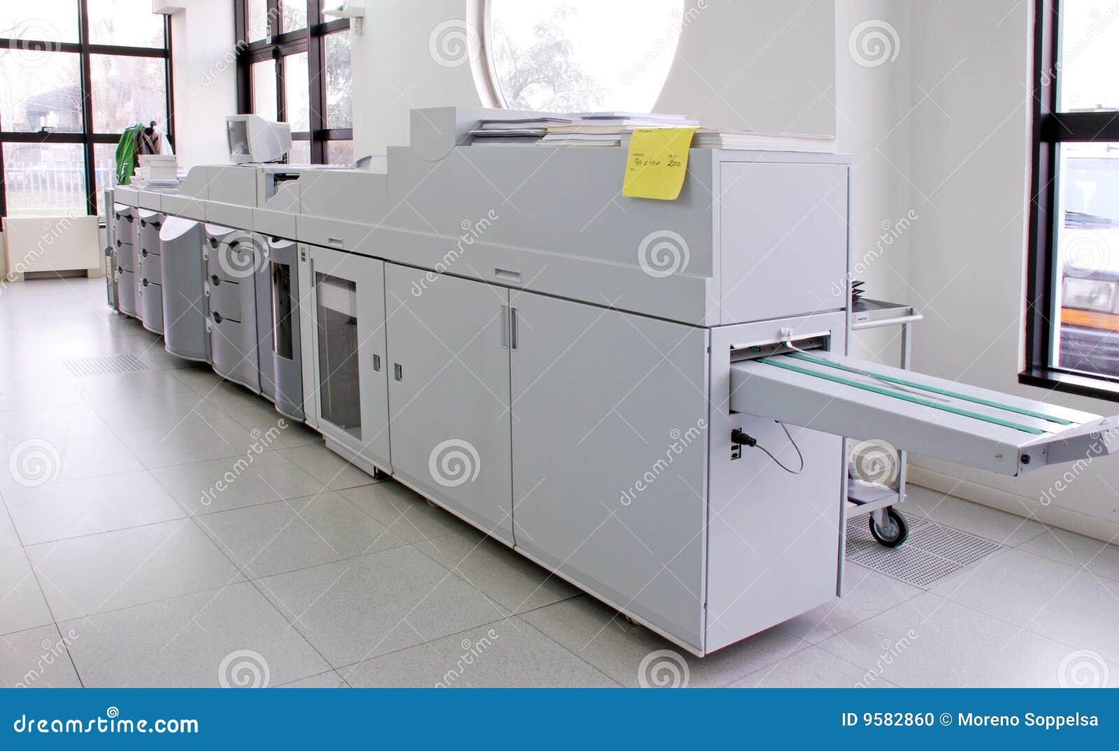Impression digitale de presse