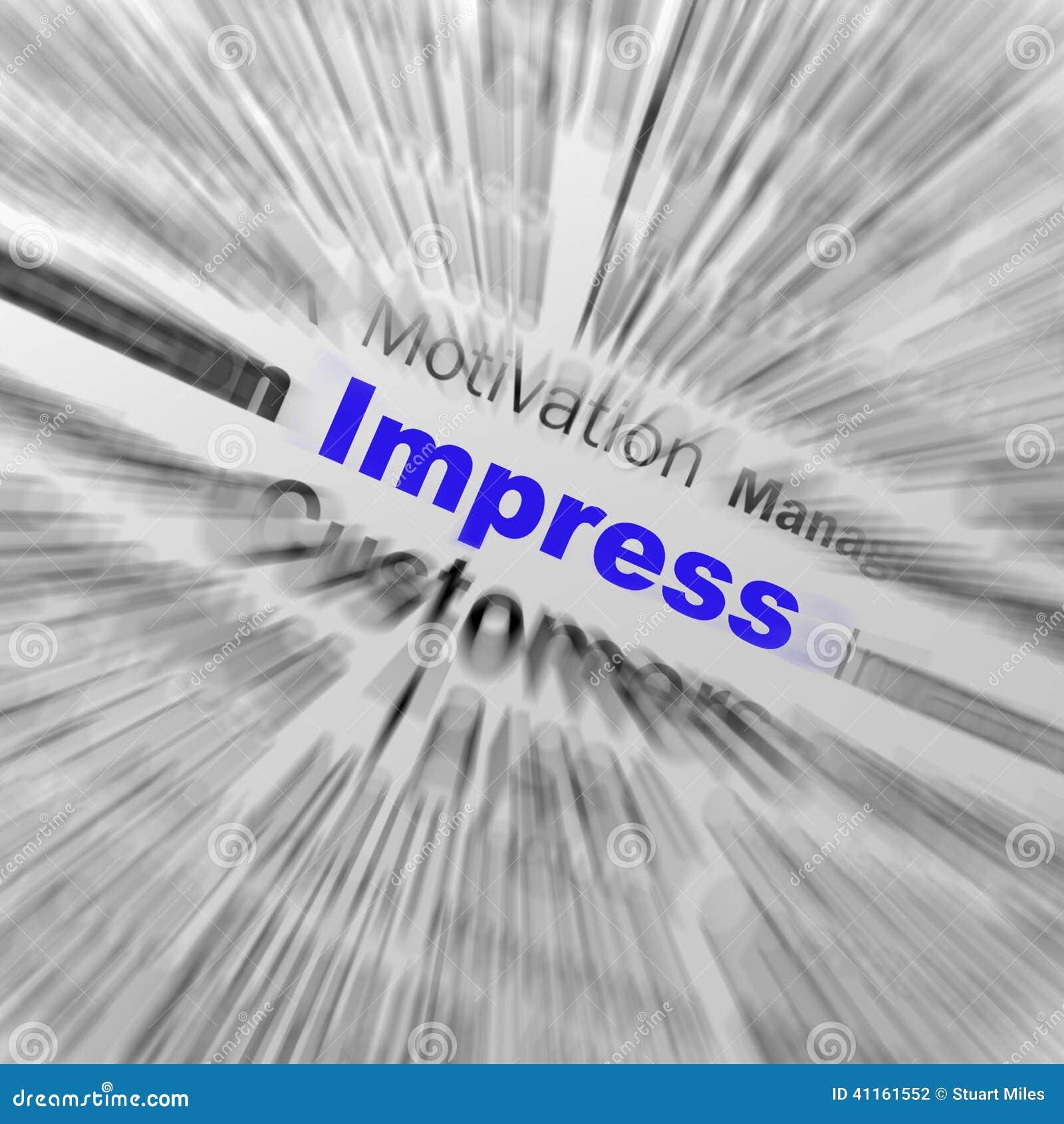 Impressioni l impressione soddisfacente delle esposizioni della definizione della sfera o ex