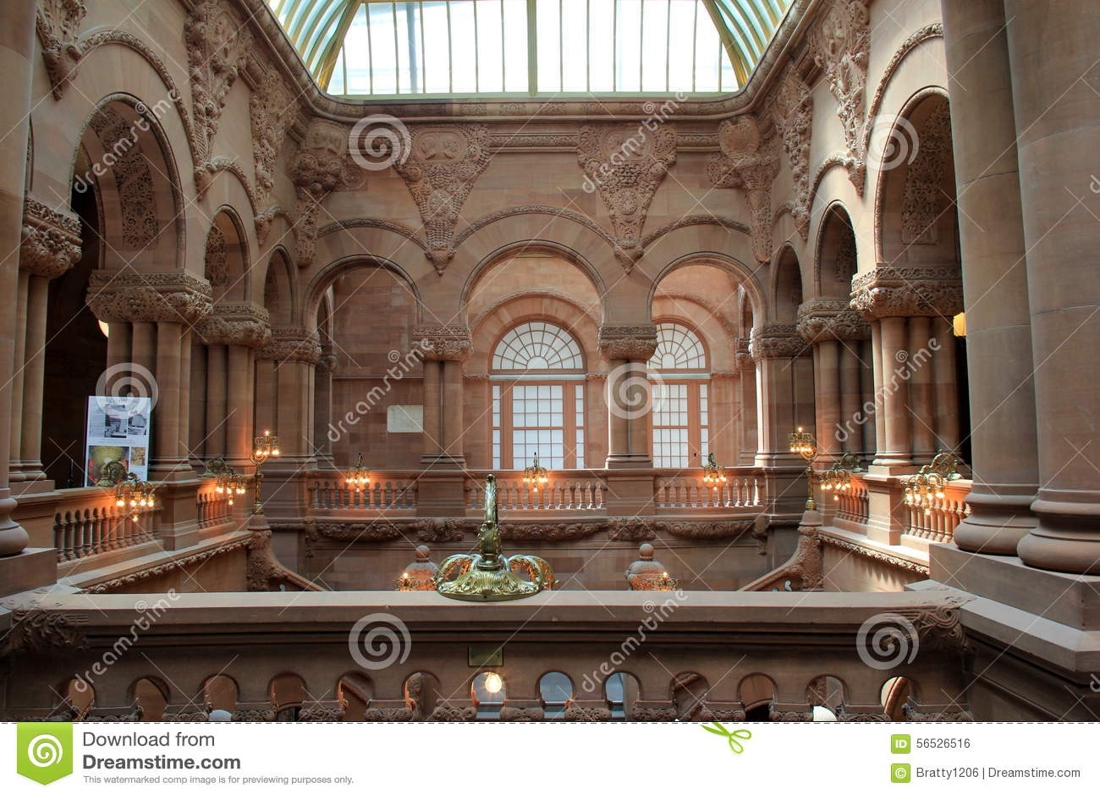 Impressive Architecture Inside New York State Capitol