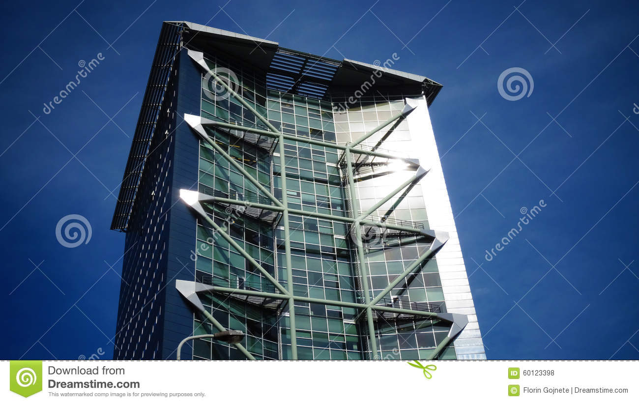 Modern Tower Architecture Stock Photo Image 60123398