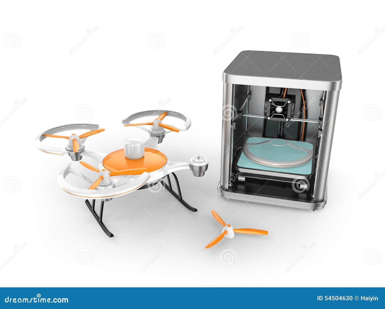 Imprimante 3D imprimant des parties de bourdon