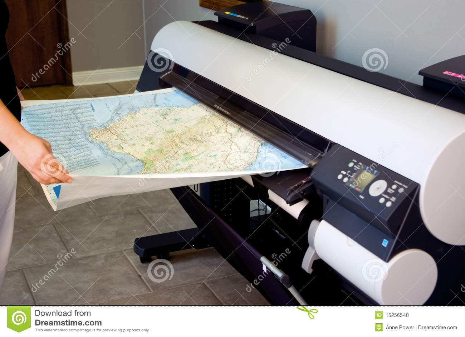 Imprimante large de format (traceur)