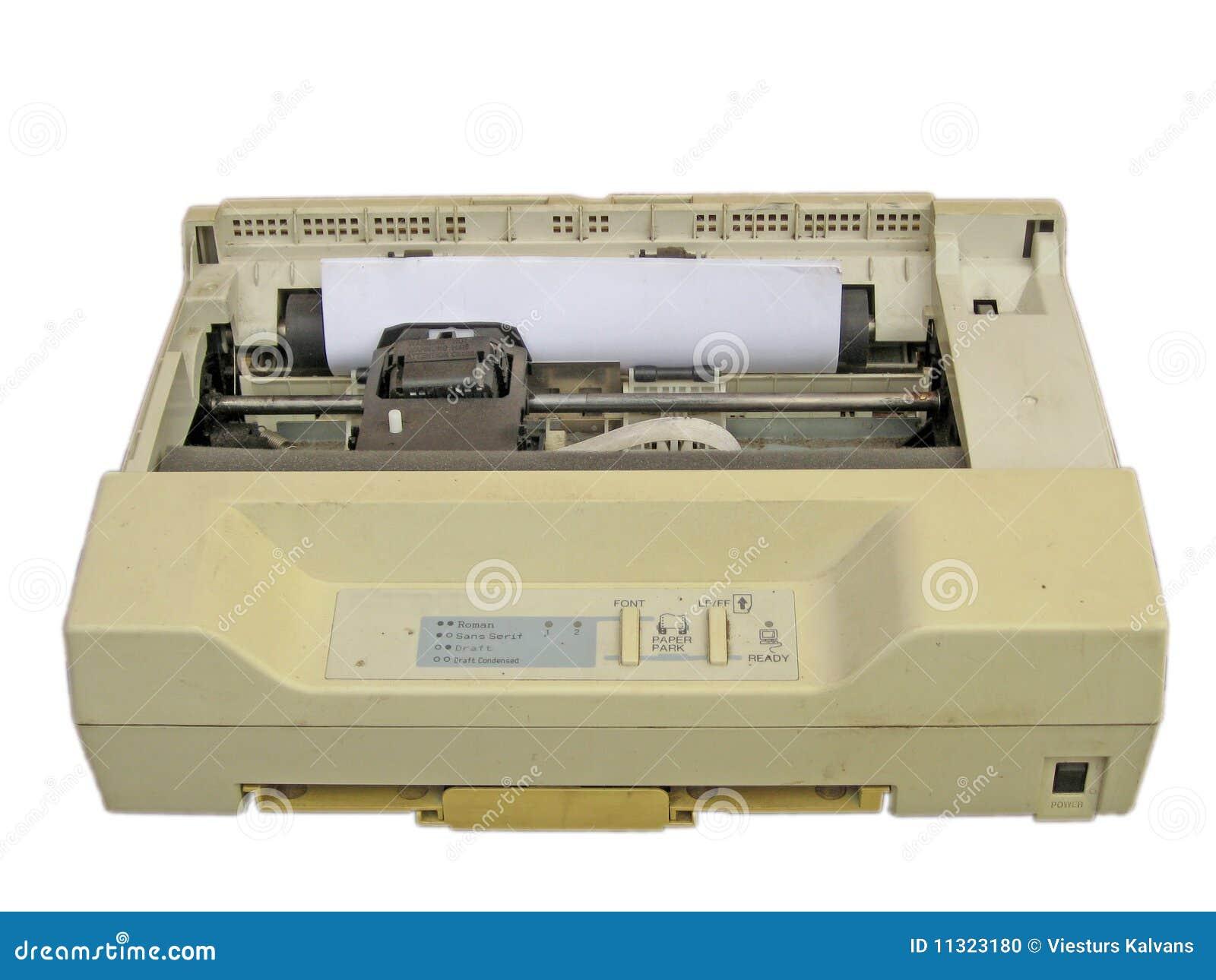 Imprimante par points