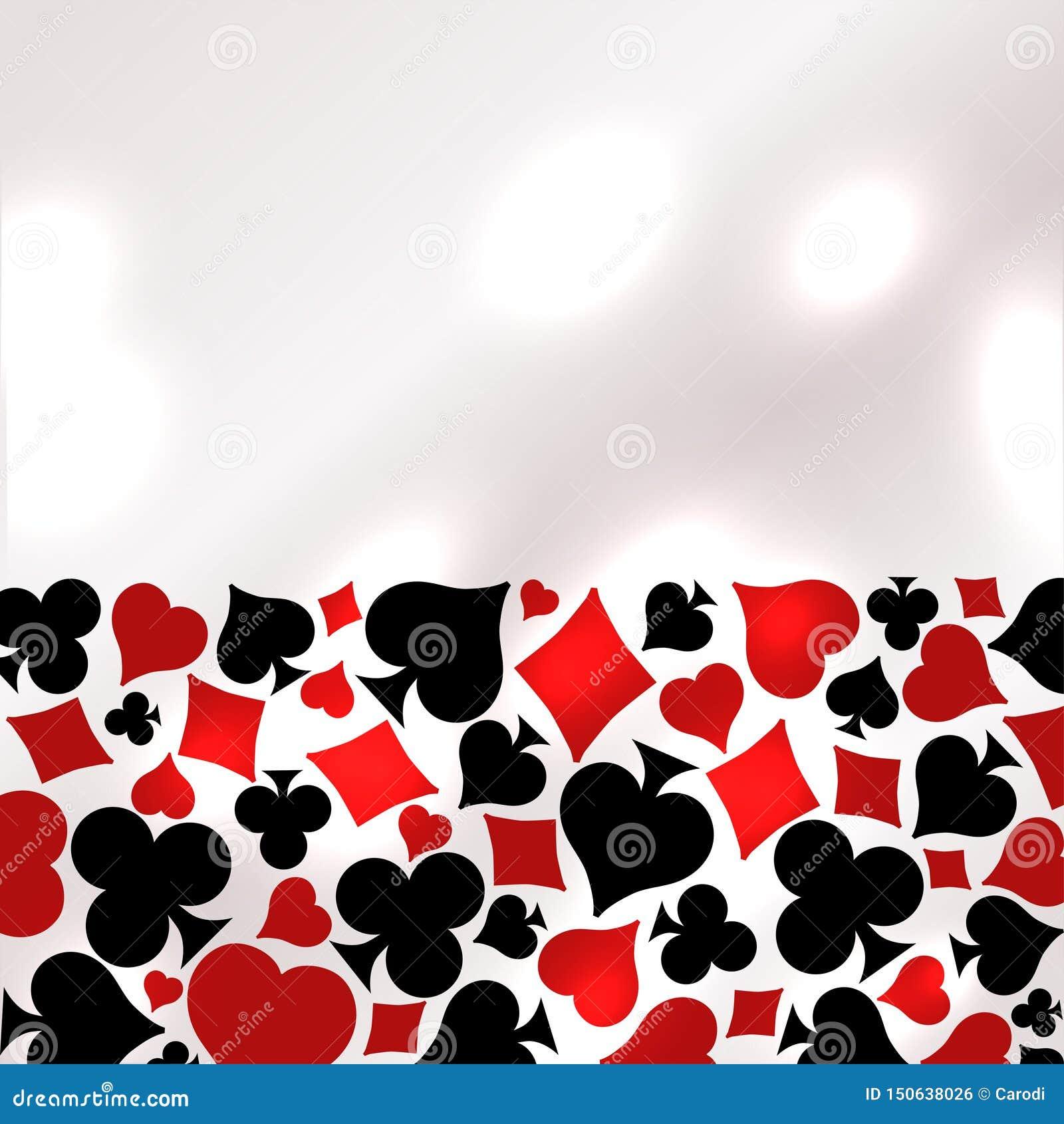 Casino Poker banner, vector