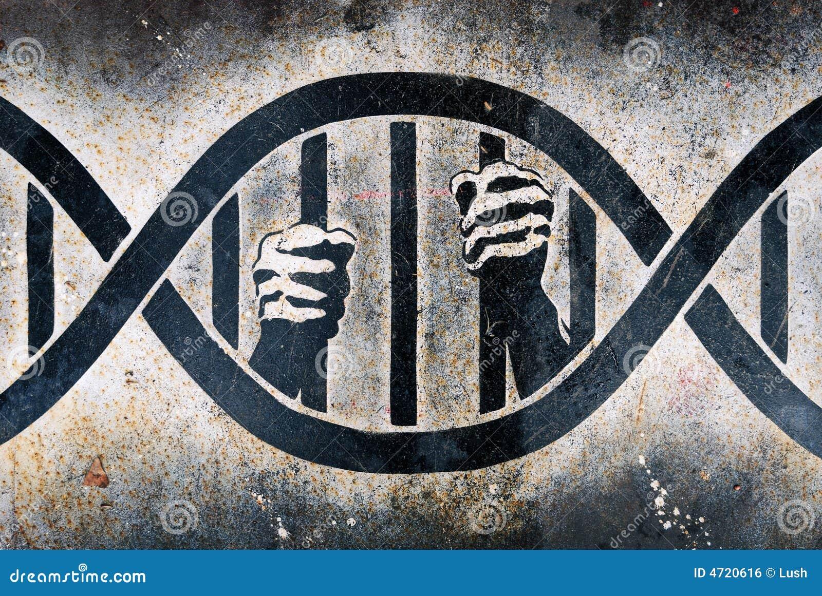 Imprisoned in DNA cage