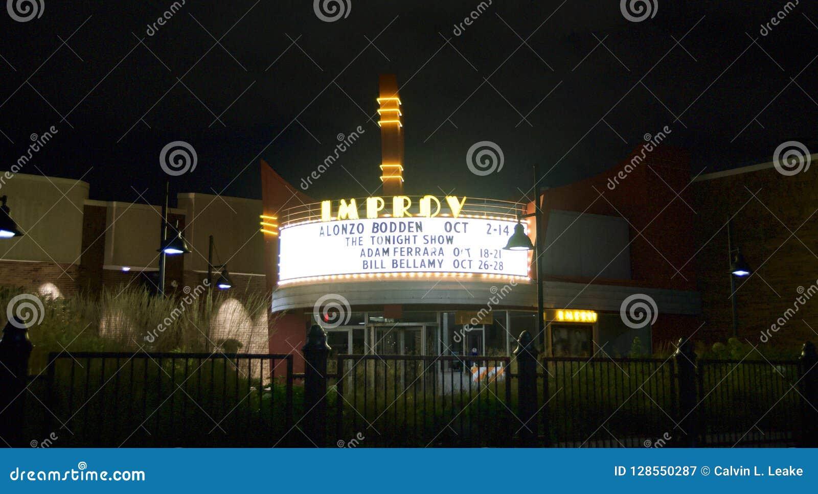 Improv Comedey Club, Woodfield Mall, Schaumburg, IL