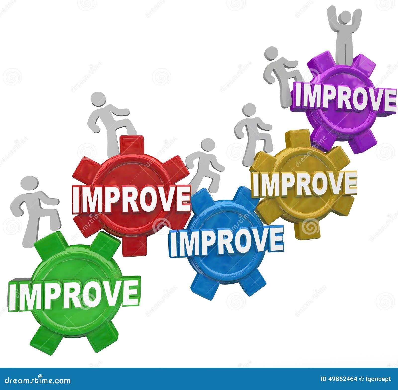 improved word gears people rising increasing results better perf