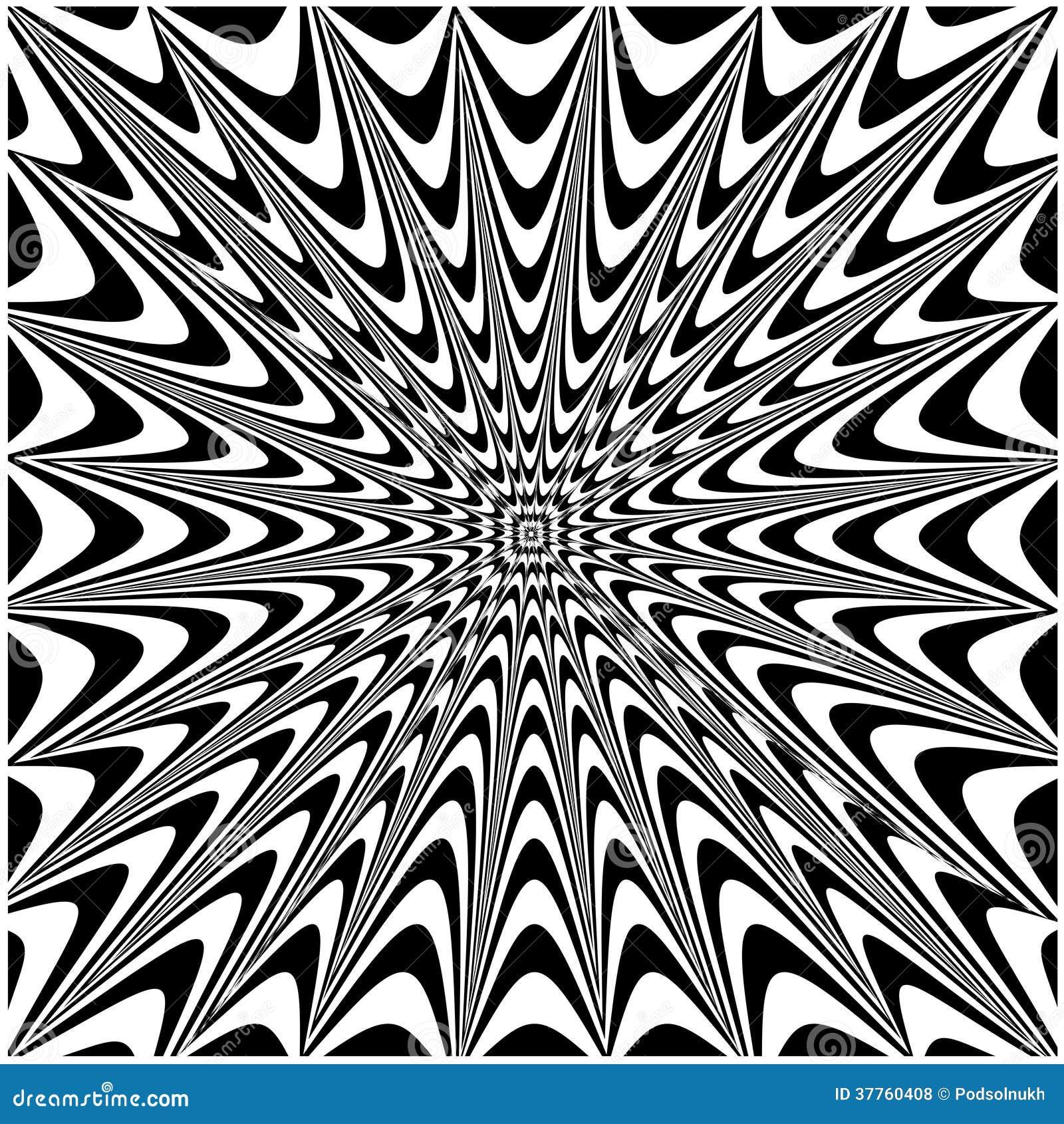 Impulsion psych d lique photos libres de droits image for Dessin graphique noir et blanc