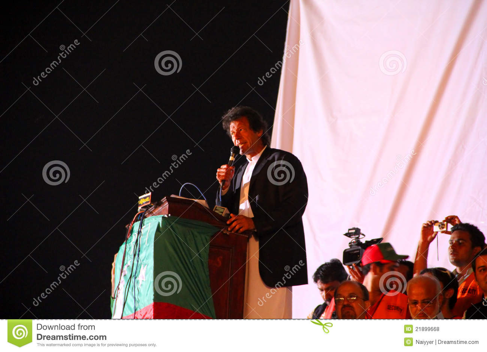 Imran jalsa khan Lahore lidera opozycja