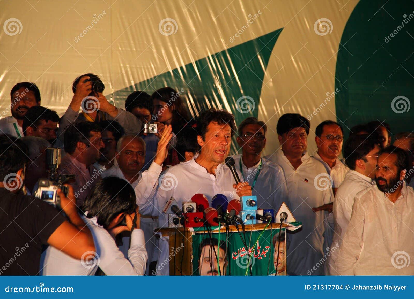 Imran wiec khan polityczny