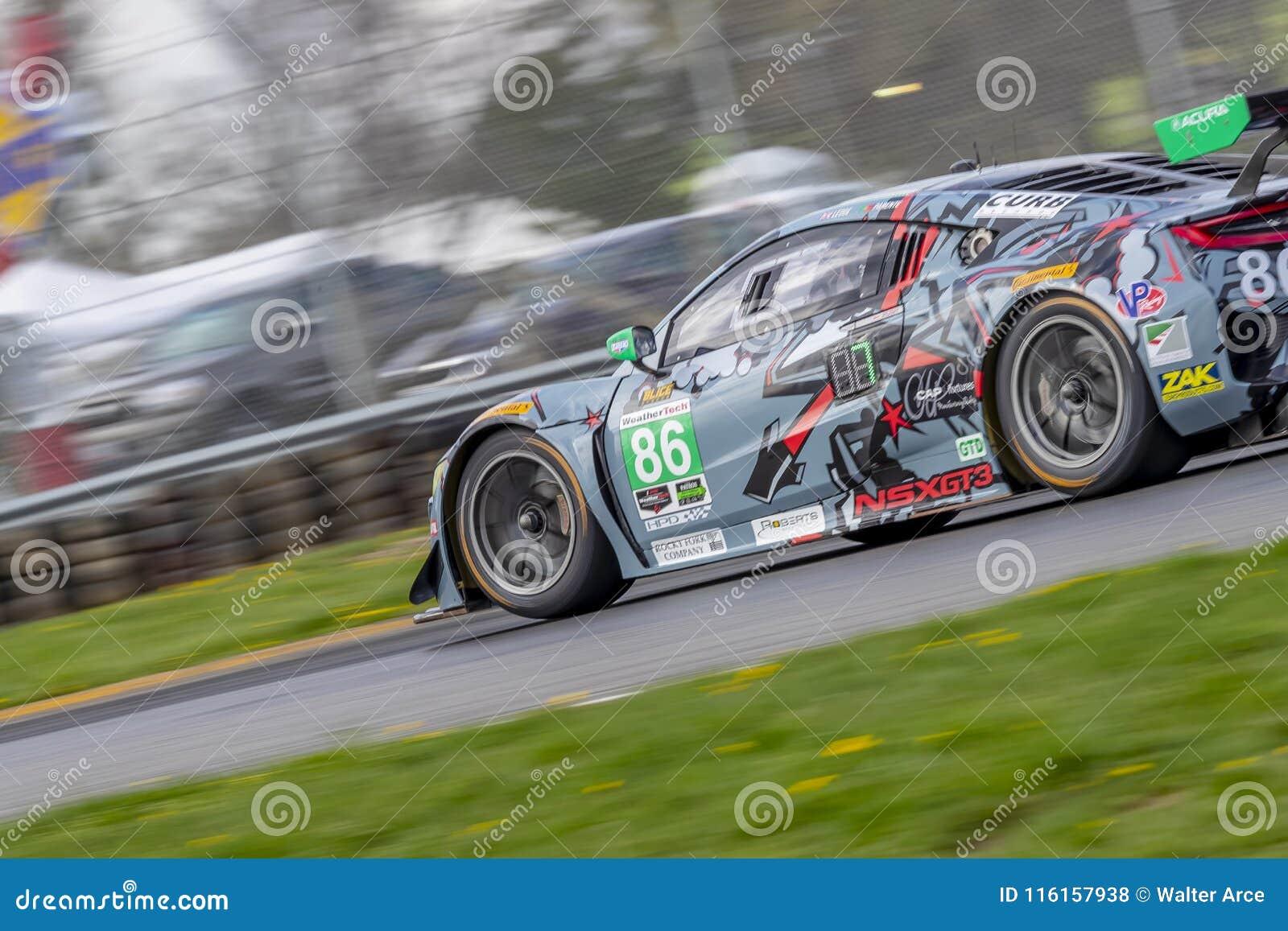 IMSA: Desafío del coche de deportes de Acura del 4 de mayo