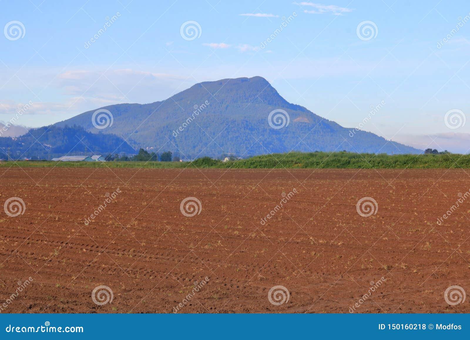 Inaktivt vulkan- och lantgårdland