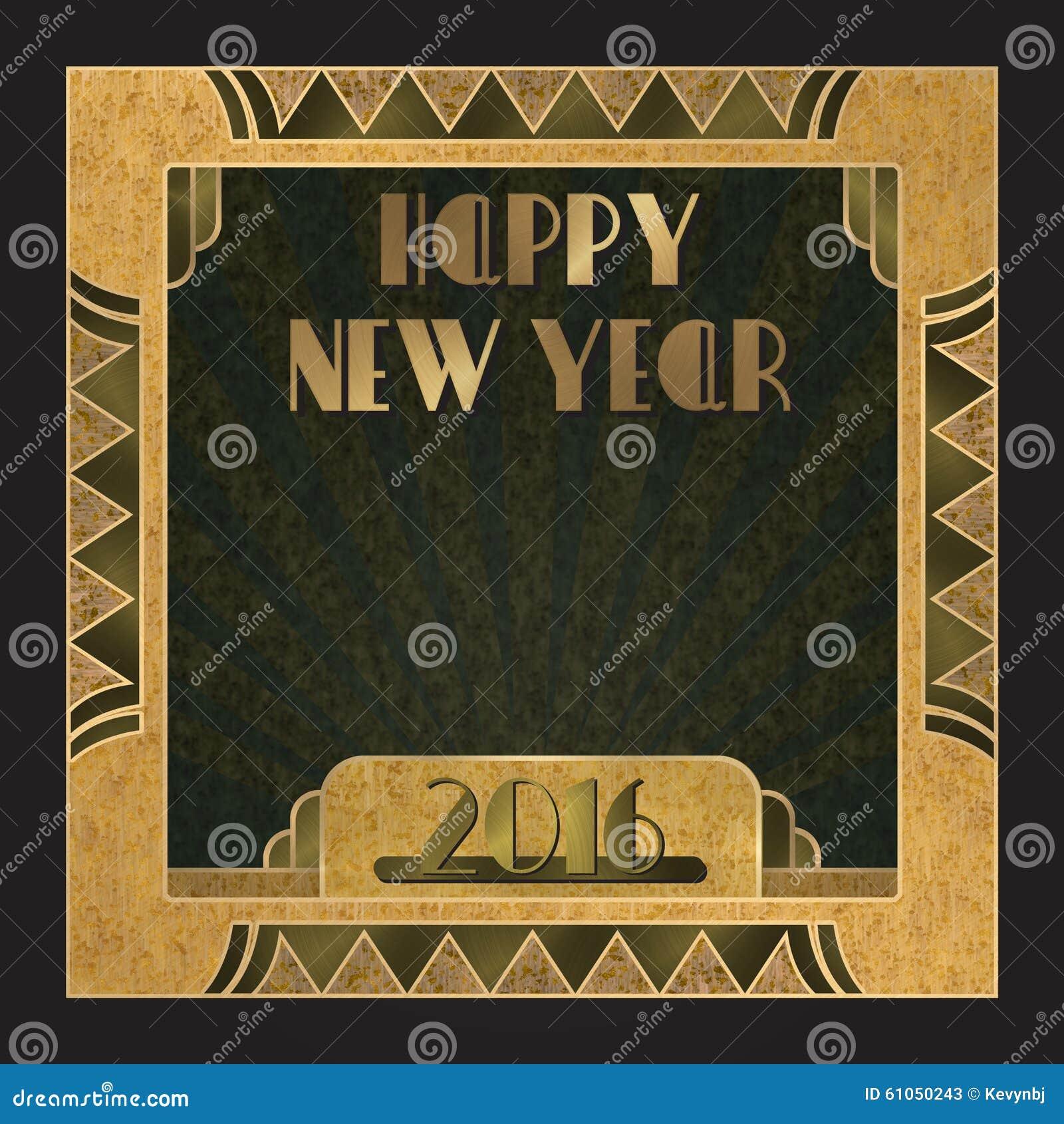 Inbjudan 2016 för nytt år