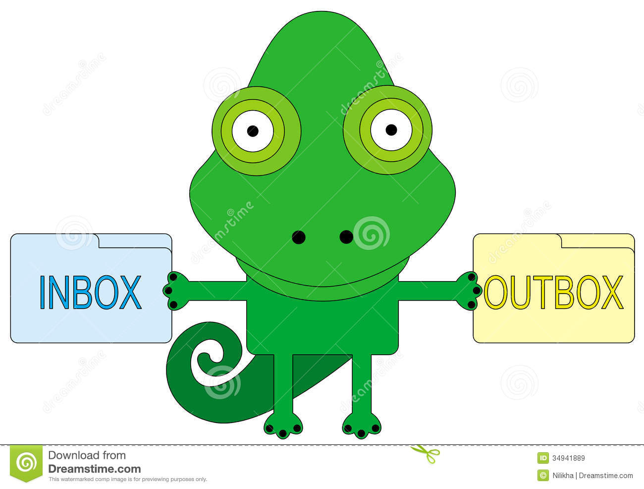 Inbox And Outbox Royalty Free Stock Images - Image: 34941889