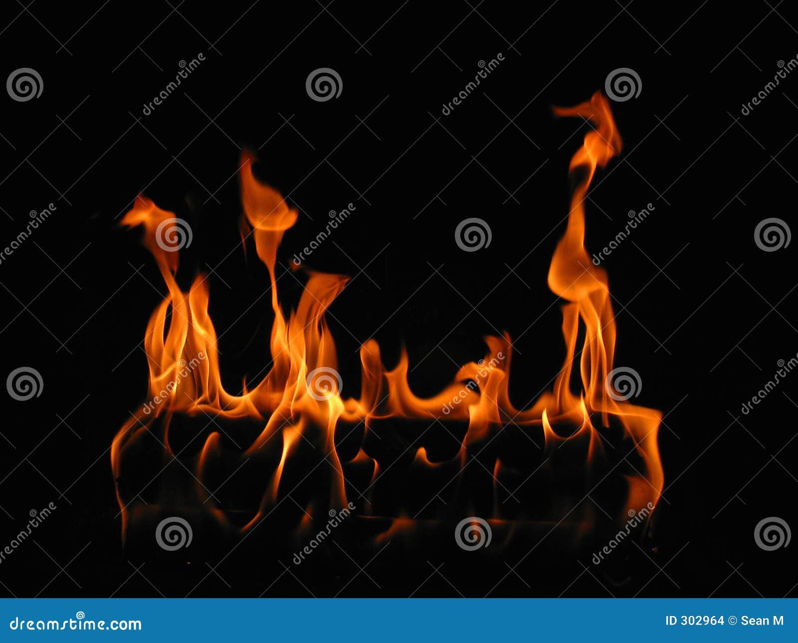 Incêndio do início de uma sessão