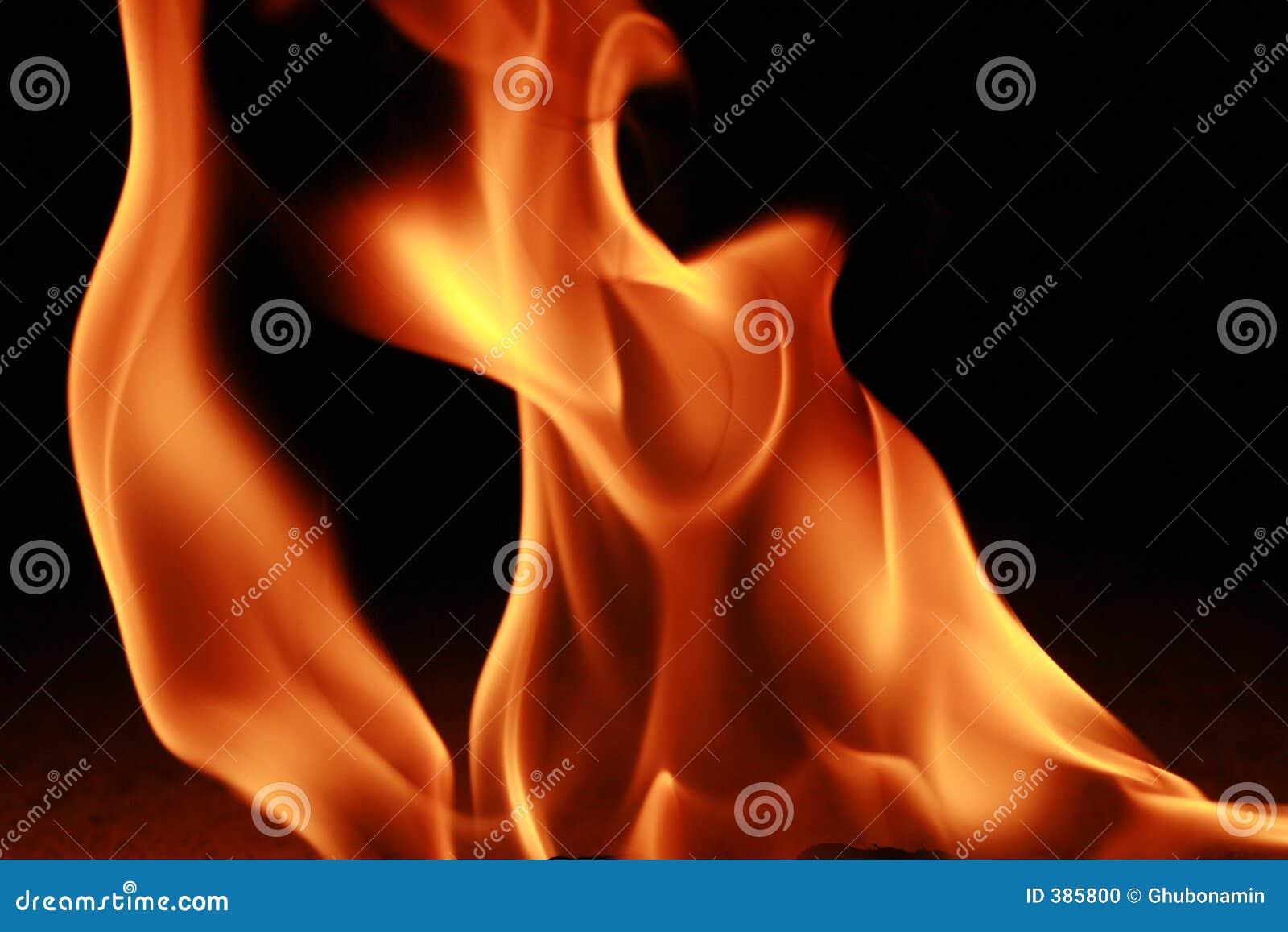 Incêndio e flama
