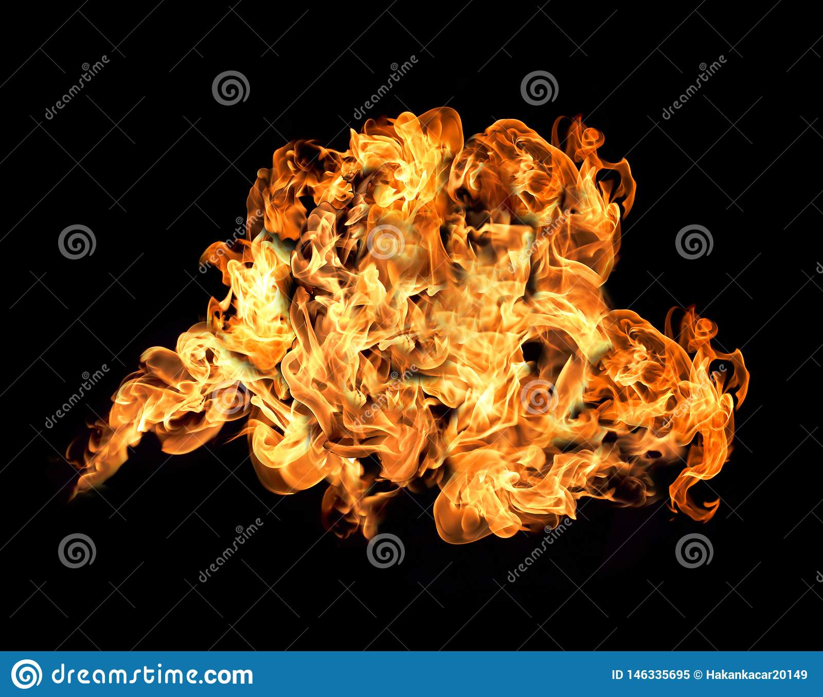 Inc?ndio e flamas com uma obscuridade ardente - vermelho - fundo alaranjado Inc?ndio e flamas