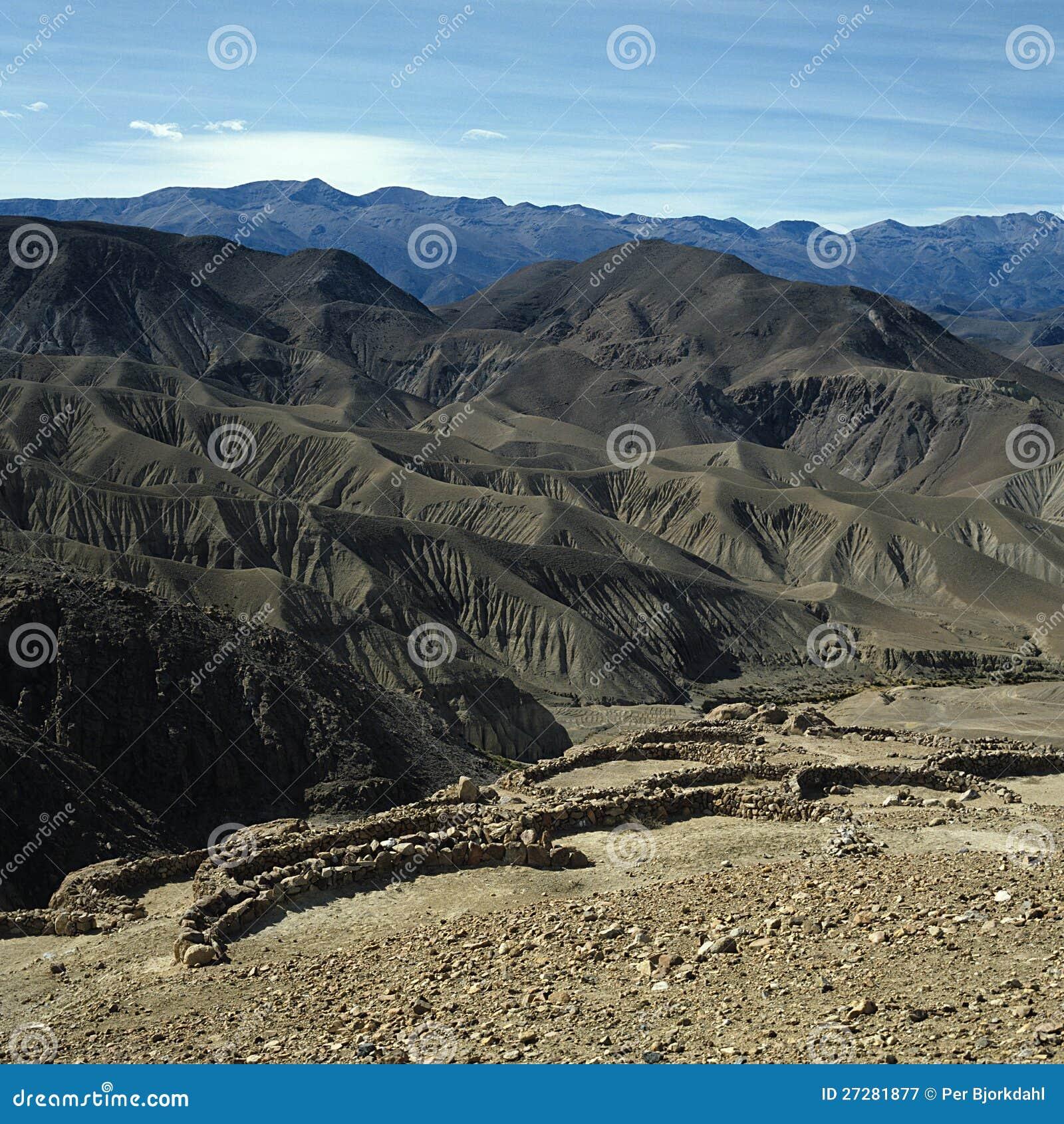 Inca- eller Pukara befästning