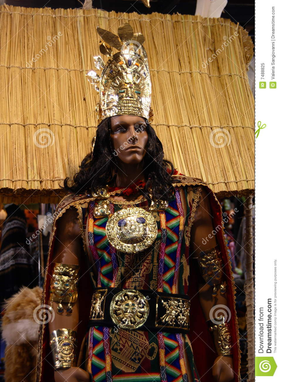 Inca King Royalty Free Stock Photo Image 7488825