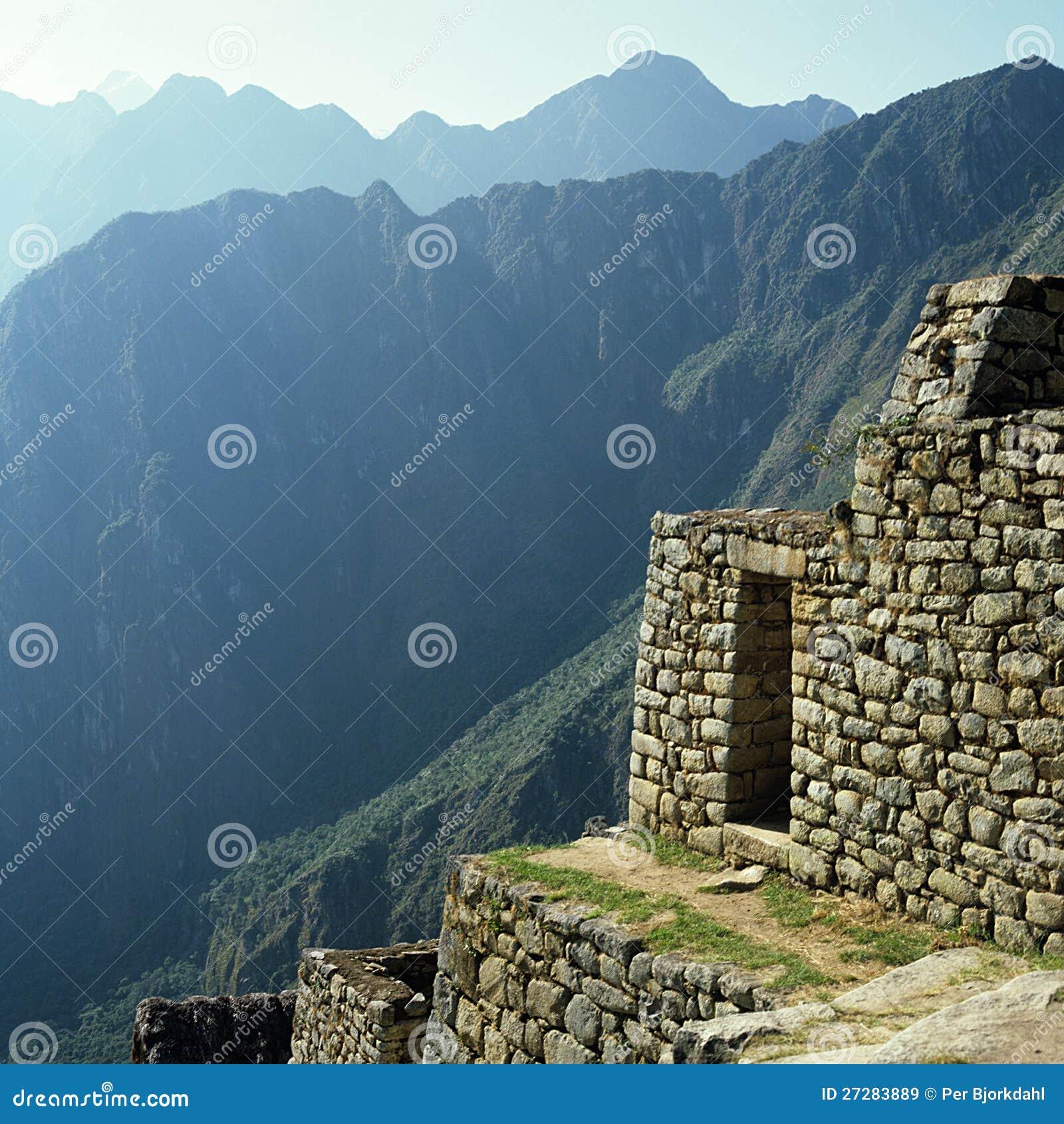 Incaen fördärvar Machu Picchu