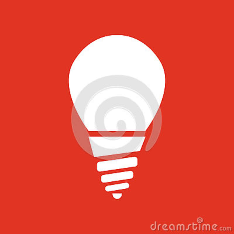The Incandescent Lamp Icon Lamp And Bulb Lightbulb Filament Lamp