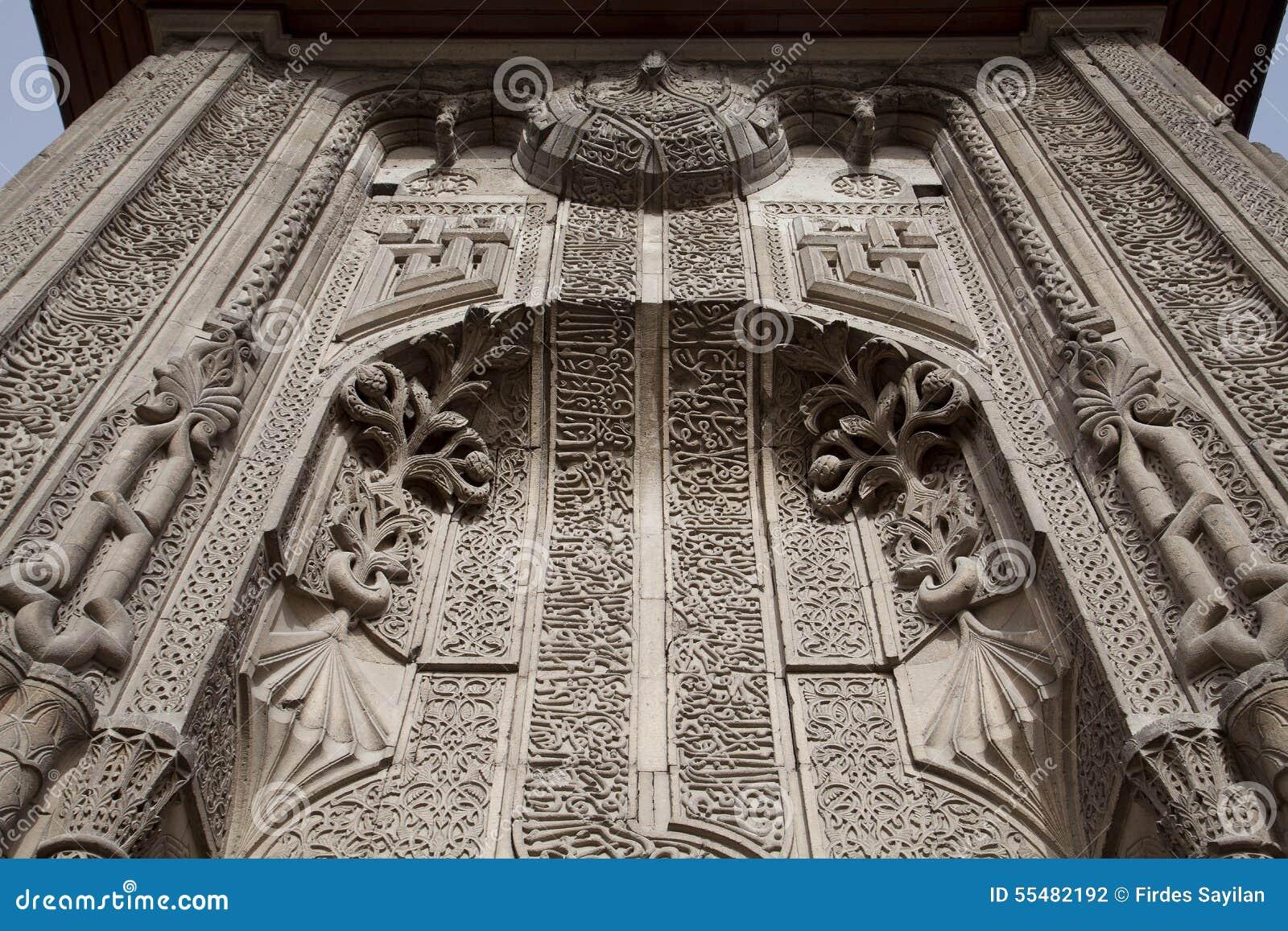 Ince Minareli Medrese (Madrasah met dunne minaret) Konya, Turkije